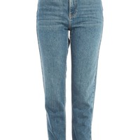 MOTO Blue Green Mom Jeans | Topshop