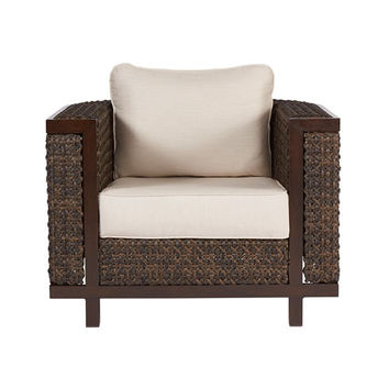 Epicenters Outdoor Brentwood Wicker Club Chair A.R.T. Furniture Arm Chairs Patio