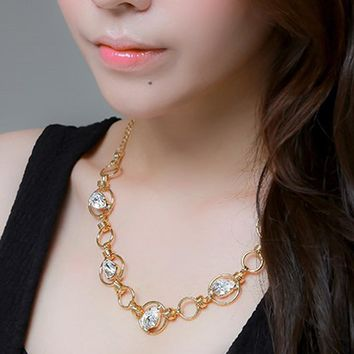 Mika Gold Necklace