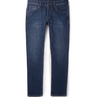 Alexander McQueen - Slim-Fit Washed-Denim Jeans | MR PORTER
