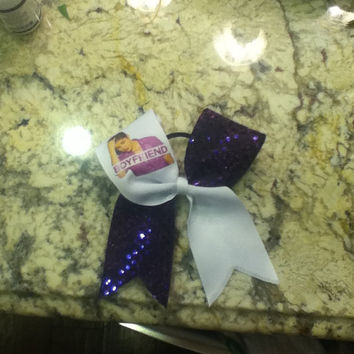 Justin Bieber Cheer Bow