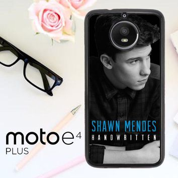 Shawn Mendes D0340 Motorola Moto E4 Plus Case