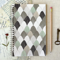 Spiral Notebook, Journal - Plucked