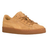 PUMA Basket Winterized - Boys' Grade School at Foot Locker