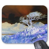 fantasy landscape mouse mats from Zazzle.com