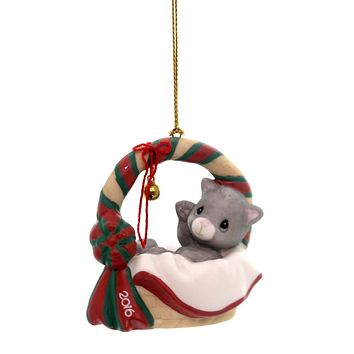Precious Moments Meowie Christmas Ornament Porcelain Ornament