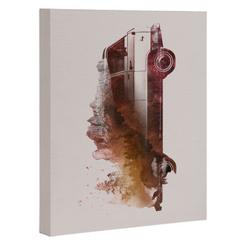 Robert Farkas Drive me back home Art Canvas
