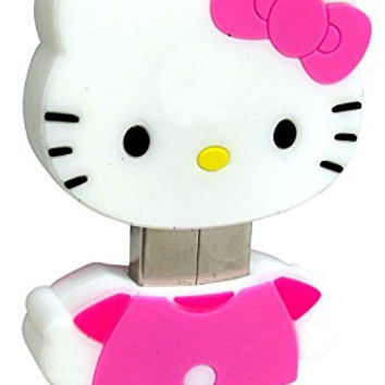 Hello Kitty 8GB USB Flash Drive (46209-WLG)