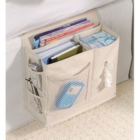 Amazon.com: Bedside Caddy - Sand: Home & Kitchen