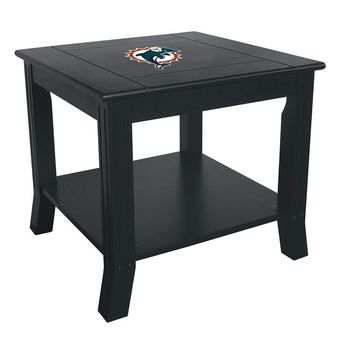 Miami Dolphins NFL Side Table