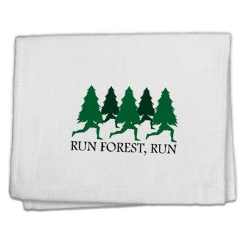 """Run Forest Run Funny 11""""x18"""" Dish Fingertip Towel by TooLoud"""