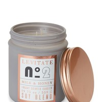LEVITATE Milk and Honey Luxury Scented Candle