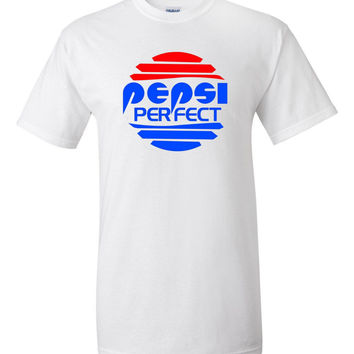 Back To The Future PEPSI PERFECT Gildan 2000 Ultra Cotton™ T-Shirt Sizes small to 5XL
