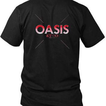 Kygo Oasis Feat Sia 2 Sided Black Mens T Shirt