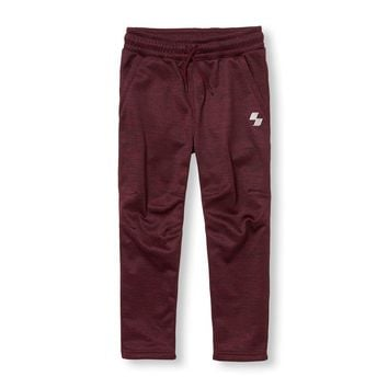 Boys PLACE Sport Marled Fleece Pants