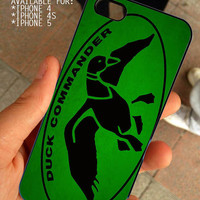 Duck Dynasty Duck Commander for iPhone 4 / 4s or 5 case cover, Black or White