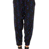 Obey Pant Antalya Harem in Black