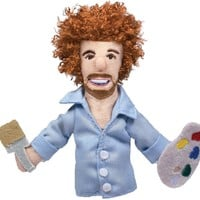 Bob Ross Magnetic Personality Finger Puppet - PRE-ORDER, SHIPS LATE DECEMBER (MAY ARRIVE AFTER CHRISTMAS!)