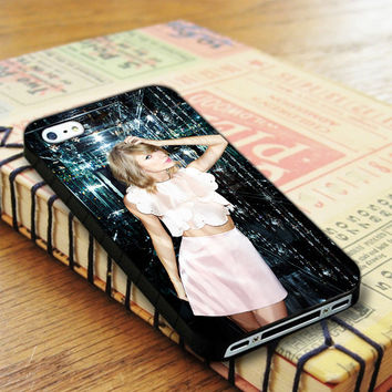 Taylor Swift Glass Singer iPhone 4 | iPhone 4S Case