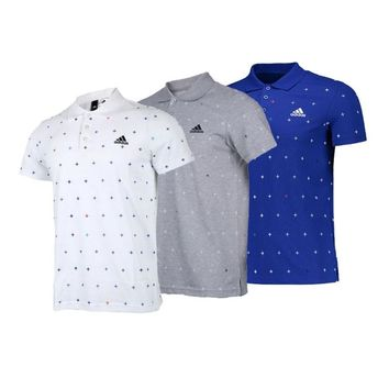 Adidas Golf Men's Branded Performance Polo Shirt
