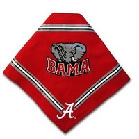 Dog Bandana - University of Alabama - Medium/Large