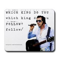 Elvis or Jesus Christian Mousepad> Mousepads> Cross Threads