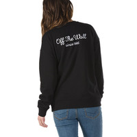 Lorraine Crew | Shop Womens Sweatshirts At Vans