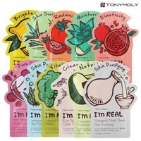 Tony Moly I'm Real Masks Sheet, 11 Ct