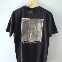 The Call Red Moon Tour Concert T Shirt vintage vtg rare 1990 black worn Large