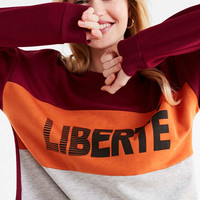 Liberte Pullover Sweatshirt | Urban Outfitters