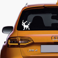 Umbreon Pokemon Decals Sticker Vinyl For Car Truck SUV Window Decal Stickers