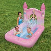 Disney Princess Enchanted Magical Castle Inflatable Pool
