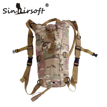 Sinairsoft Hot Selling Sport Water Bags Bottles Cage Hydration Backpack Jugs Bottles Camping Camelback Bicycle Military Kettle