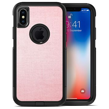 The Pink Ombre Scratched Service  4 - iPhone X OtterBox Case & Skin Kits