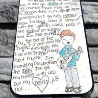 Ed Sheeran lyric for iPhone 4/4s, iPhone 5/5S/5C/6, Samsung S3/S4/S5 Unique Case *76*