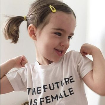 The Future is Female T-shirt KIDS + BABY sizes