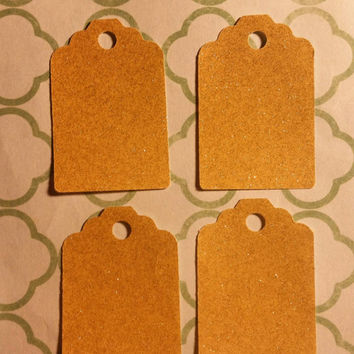 Shimmering Gold Gift Tags