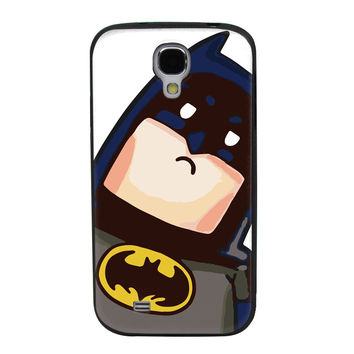 Tilted Animated Batman TPU Soft Shell Jelly Silicone Case for Samsung Galaxy S4