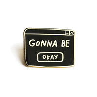 Okay Lapel Pin