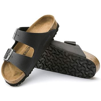 Sale Birkenstock Arizona Microfiber Anthracite 0652421/0652423 Sandals