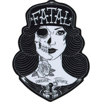 Fatal Faithful Sticker Black/White One Size For Men 23014512501
