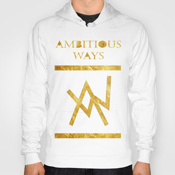 Golden Hoody by Ambitious Ways Clothing
