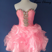Kari Chang YL1447 Homecoming Short Prom Dress