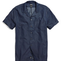 Laight Street Shirt in Blue Dot