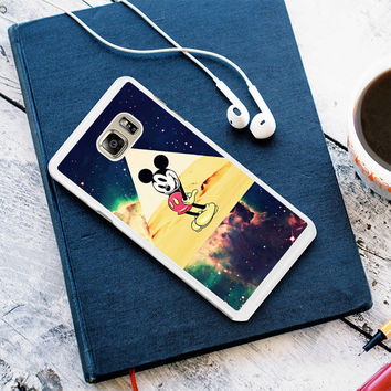 disney Mickey mouse Hipster Triangle Galaxy Samsung Galaxy S7 Case Planetscase.com