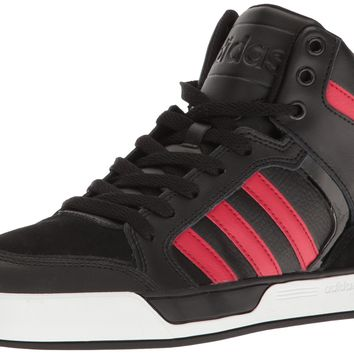 adidas NEO Men's Raleigh 9tis Mid Basketball Shoe Black/Toro/Black 8 D(M) US '