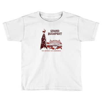grand budapest hotel Toddler T-shirt