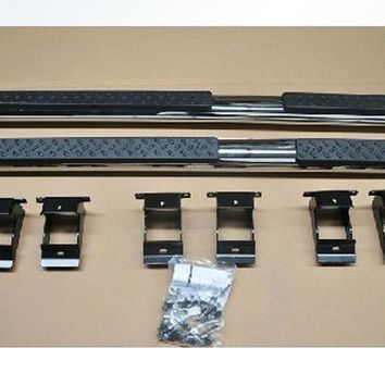 Side Steps Nerf Bars Running Boards For Jeep Grand Cherokee 2011 2012 2013 2014 [QP967]