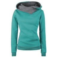 Women Casual Sweatshirt Sport Hoodies Tracksuits Loose-Fitting Jogging Suits