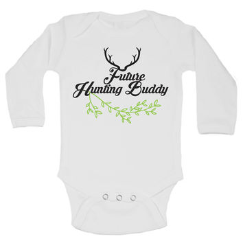 Future Hunting Buddy Funny Kids Onesuit - B112